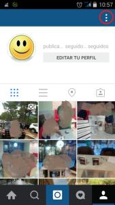 Configurando Instagram